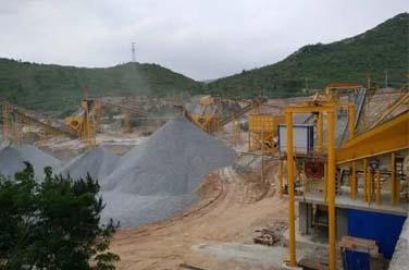 锦东耐磨材料应用于矿山施工中