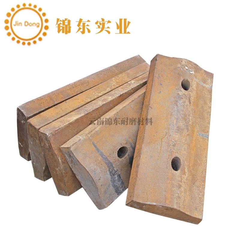 云南锦东球磨机高锰钢衬板
