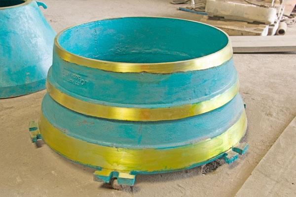 圆锥破碎机配件的设计合理才能提高耐磨性能
